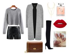 """""""casual night outfit"""" by cherrie-pie on Polyvore featuring Boohoo, Jules Smith, Warehouse, Zara and Mulberry"""