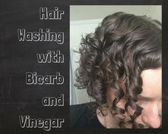 2/6. Day 1 washing hair bicarb & rinsing with vinegar Interesting blog, she has background in Biochem makes it much more interesting  to read.  I used 2 heaped tspns in cup warm water, slowly poured over damp hair, massaged into scalp &hair, rinsed, then 2 tbspns vinegar in large cup warm water, poured over tipped back head, let it sit for a bit then a quick rinse.  I have just below shoulder length straight hair, fine but lots of it, was able to comb straight away (Kym)