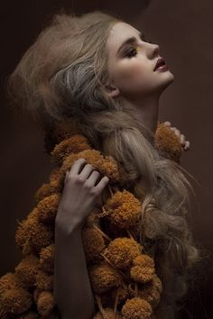 Ugh that makeup is amazing. (。/_\。) Royal Extreme by Una Hlin Kristjansdottir - Dezeen