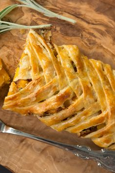 Braided Butternut Squash Strudel at PaulaDeen.com