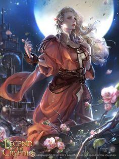 As belas e incríveis ilustrações de fantasia para games de Zinna Du