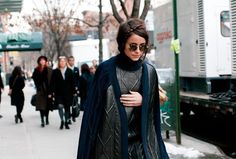 ashion week fall 2013    Fashion Week Street Style