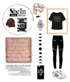 """""""She is a Shining Star 🌟💫"""" by pupak-chic on Polyvore featuring beauty, Givenchy, adidas Originals, Jellycat, La Femme, Olivia Pratt and WithChic"""
