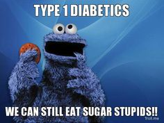 Well said Cookie Monster!