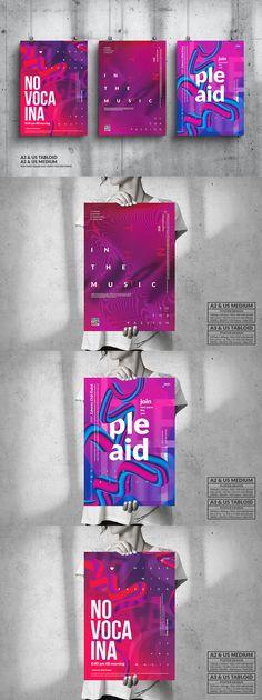 Music Event Big Poster Design Bundle PSD Poster Templates, Design Bundles, Big, Music, Musica, Musik, Muziek, Music Activities, Songs
