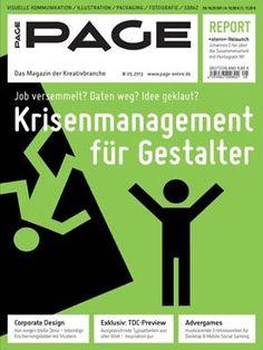 PAGE 05.2013 Krisenmanagement für Gestalter