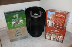 Keurig K-cups. Head over to The Frugal Free Gal blog for a chance to win 4 boxes of K-Cups from Cross Country Cafe.