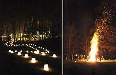 The Roxbury Barn #barnwedding #Catskills #bonfire