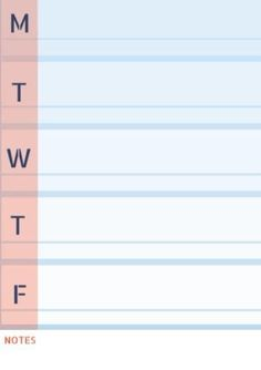 Keep an eye on your weekly duties by using this awesome red and blue family calendar! Each weekday has lots of space for you chores. Weekly Planner Template, Family Calendar, Planners, Red And Blue, Fill, Templates, Eye, Space, Simple