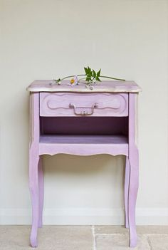 Annie's French side table with scrummy Henrietta colour
