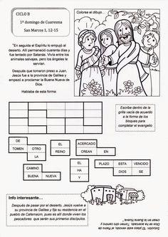 El Rincón de las Melli: 1º domingo de Cuaresma - CICLO B