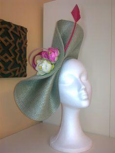Millinery Hats, Fascinator Hats, Fascinators, Fancy Hats, Cool Hats, Tea Hats, Jeweled Headband, Bridal Hat, Diy Hat