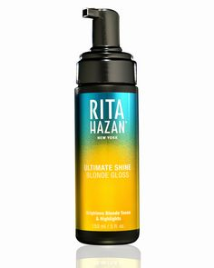 Brightens and illuminates blonde hair and highlights while restoring sheen to dull hair.