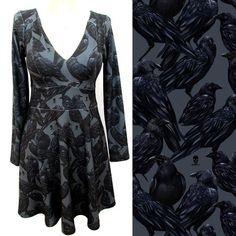 Vestido acinturado Raven