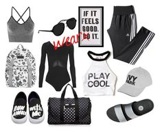"""""""AthLeisure"""" by istyled ❤ liked on Polyvore featuring Hollister Co., FitFlop, Vans, LeSportsac, adidas, Ivy Park, Topshop and 3.1 Phillip Lim"""