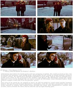 "This really sweet moment between Harry and Hermione. | 29 Times Tumblr Made ""Harry Potter"" Fans Cry All Over Again"