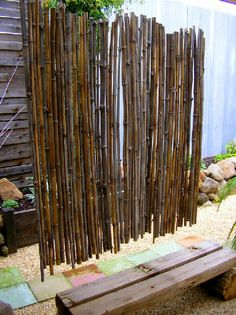 bamboo wall partition
