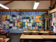 Kensuke's Kingdom wall Kensukes Kingdom, Teaching English, Literacy, Display Boards, Classroom Ideas, Wall, Drama, Study, Reading