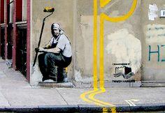 Banksy London Graffiti