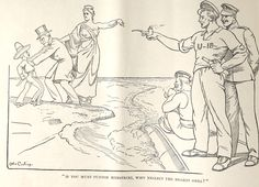 Life Magazine, WWI Political cartoon, Visual Studies Collection, Library of Virginia.