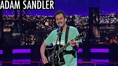 Adam Sandler's Musical Ode to David Letterman