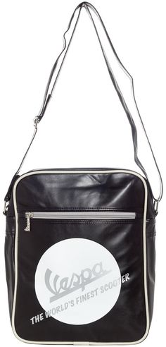 VESPA WOLRDS FINEST SHOULDER BAG $45.00 #vespa #accessories #shoulderbag