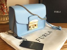 Genuine Furla Metropolis Crossbody Mini Shoulder Bag! *This Is Not Michael Kors* in Clothes, Shoes & Accessories £129.00