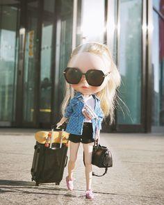 #blythe #blythestyle #blythedoll #blythestagram #totallook #streetstyle #handmade #dollclothes #dollshoes