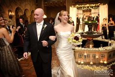 Melissa and Scott make it official at the Hollywood Roosevelt Hotel