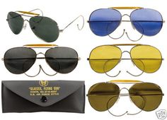 8282aa54d06 Rothco 10200 Air Force Style Sunglasses- Milspec -5 Colors Available