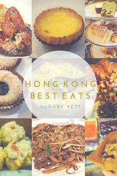 Restaurants you can't miss if you're heading to HK. So much to eat you'll grow a food baby. No joke.