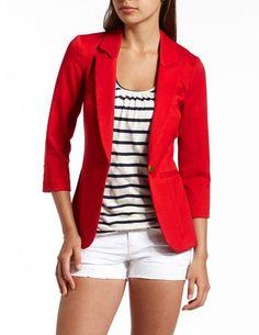 Red Hot Boyfriend Blazer: Charlotte Russe, cute for Holidays!