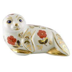 Seal Paperweight by Royal Crown Derby