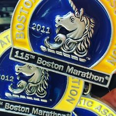 """From the """"little sister"""" marathon in the south we honor our big brother to the north today. It is a day we will never forget. #bostonstrong #providencemarathon #runchat #bostonmarathon"""