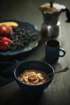 QUINOA PORRIDGE WITH BLUEBERRIES AND PECANS by Closet Cooking ...