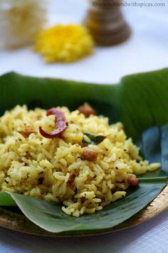 Aava Pettina Pulihora Recipe ~ Andhra Mustard Flavored Tamarind Rice ~ Sankranti Special Recipes | Gluten Free, Vegan
