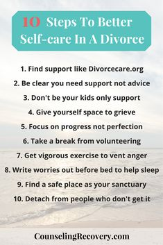 How long does it take to heal from divorce