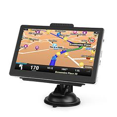 7 Inch Portable Car GPS Navigator (FM Transmitter, Built-in 4GB Memory, Media) – US$ 106.99
