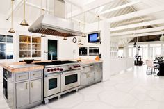 Kitchen Inspiration: go bold with lighting