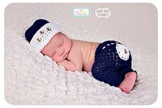 Hey, I found this really awesome Etsy listing at https://www.etsy.com/listing/184437543/newborn-crochet-outfit-newborn-sailor