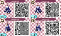 Animal Crossing QR Codes - Sleeveless Dresses