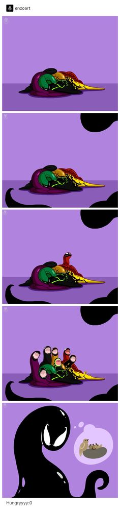 Venom Comics, Marvel Venom, Marvel Dc Comics, Marvel Heroes, Marvel Avengers, Marvel Jokes, Marvel Funny, Funny Comics, Venom Art
