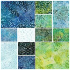 Fabric Collections - BeColourful Quilts