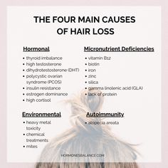 4 Big Causes of Hair Loss in Women and How You Can Treat It