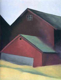 Ends Of Barns  Artist: Georgia O'Keeffe