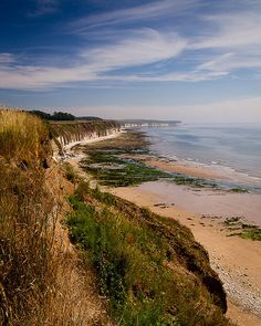 Bridlington coastline, Yorkshire, England by S.R.Murphy