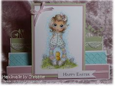 An Easter card i made.. I love using pastel colours..