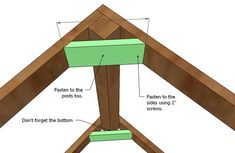 This playhouse deck uses standard boards and minimizes scraps. Four feet off the ground, there is just enough clearance underneath to store toys under! Build a playhouse on top. Simple Playhouse, Build A Playhouse, Playhouse Outdoor, Playhouse Kits, Deck Building Plans, Deck Plans, Ana White, Deck Furniture, Furniture Plans