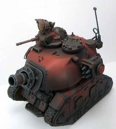 Squat tank w40k space dwarves