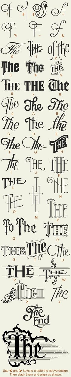 Creative Typography, Great, Fonts, Type, and Lettering image ideas & inspiration on Designspiration